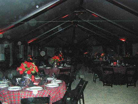 Wedding Rehearsal Dinner in Black Forest's Covered Arena